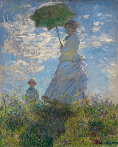 claude-monet-la-femme-à-l'ombrelle