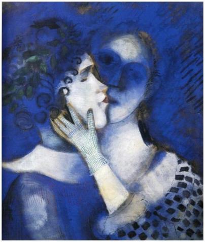 Chagall 1914 – Les Amants bleus